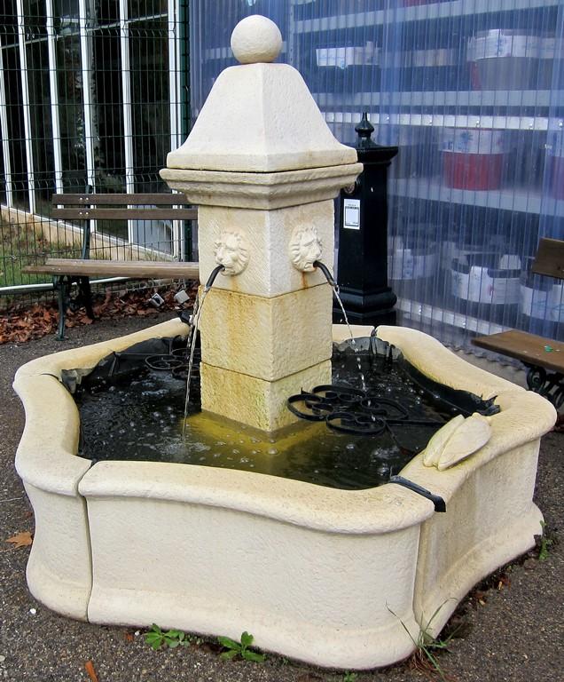 Bassins et fontaines