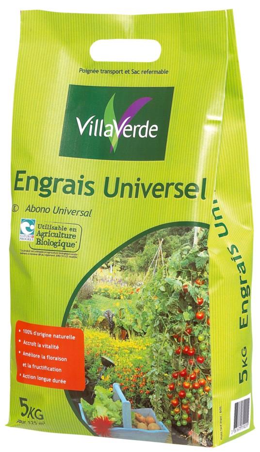 Engrais universel bio 5 kg