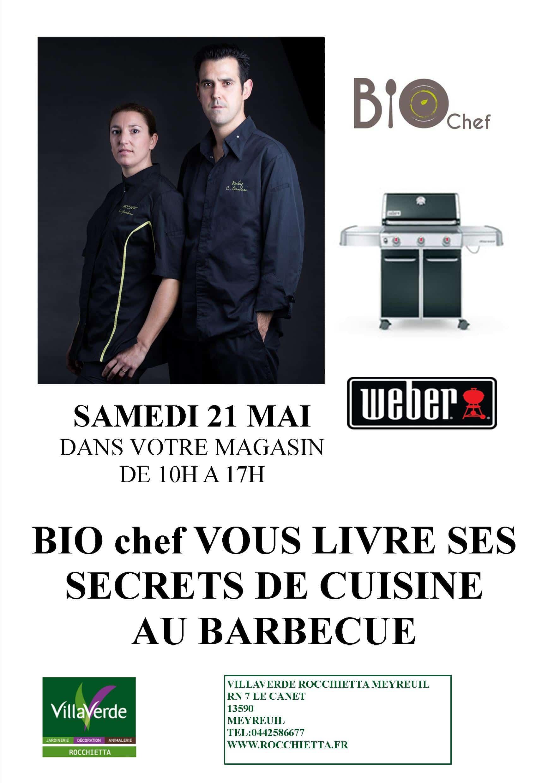 Bio chef vous livre ses secrets de cuisine au barbecue for Secrets de cuisine